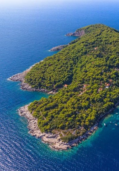Feel the tranquility of Koločep Island